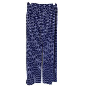 Style&Co Printed Pull On Stretch Pants Slinky S